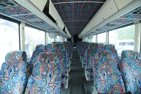houston charter bus services